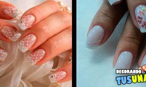 Vídeo con diseños de uñas para novias muy bonitos