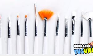 Cómo usar estos 5 pinceles y 5 herramientas básicas para decorar uñas